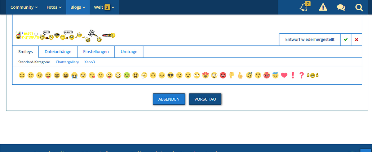 Standard Smiley Gruppe - Multimedia-Pool