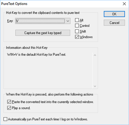 PureText – Additional Options