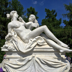 Erotic sculpture - Sanssouci Palace - Potsdam