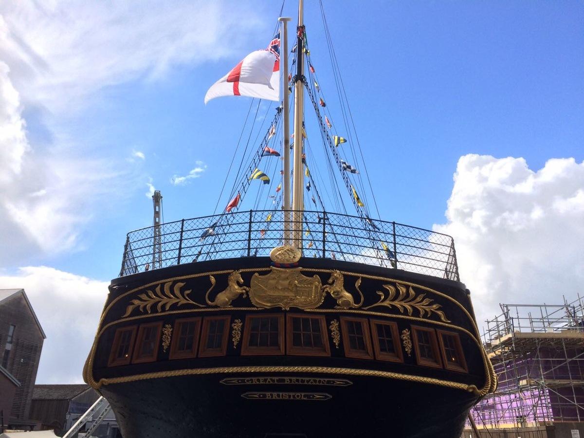 Navio do museu britânico em Bristol – Grã-Bretanha